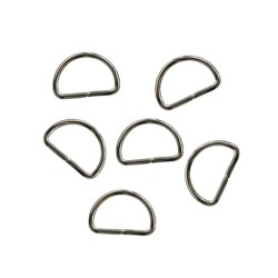 Metal D-Ring Craft 1.5CM - 10pcs