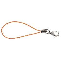 Handphone Strap Craft Orange #523 - 10pcs