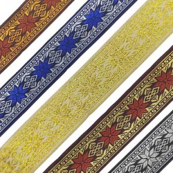 Embroidery Ethnic Lace R02-RK4018B-1Meter