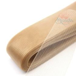 10cm Horsehair Braid Nylon Net Khaki - 1meter