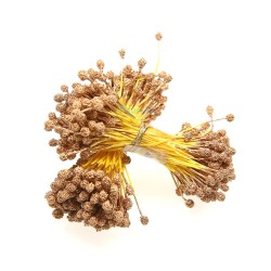 H100S Special Stigma Flower Inti Bunga Gold - 1 Bunch