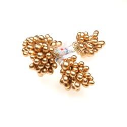 H104 Stigma Flower Inti Bunga Metallic Gold - 1 Bunch