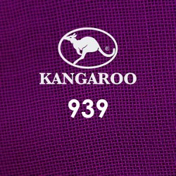 "#939 Kangaroo Premium Voile Scarf Tudung Bawal Plain 45"" Dark Purple"
