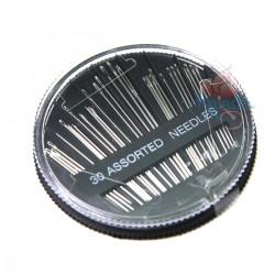 30pcs Senorita Assorted Hand Sewing Needles Silver