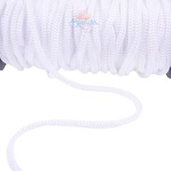 Braid Nylon Cord White 6mm - 1 Meter