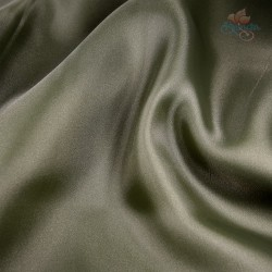 "Organdy Fabric Dark Army Green 60"" Wide - 1 Meter"