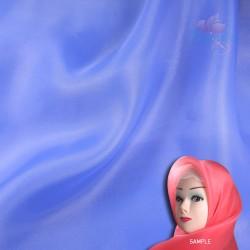 "Senorita Organdy Scarf Tudung Plain 45"" Cornflower Blue - #363"