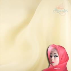"Senorita Organdy Scarf Tudung Plain 45"" Ivory - #345"