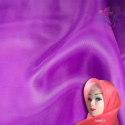 "Senorita Organdy Scarf Tudung Plain 45"" Magenta - #299"