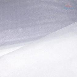 """Organza Fabric Grey 60"""" Wide - 1 Meter"""