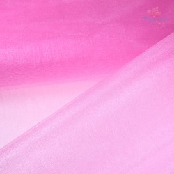 "Organza Fabric Light Pink 60"" Wide - 1 Meter"