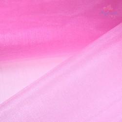 "Organza Fabric Light Pink 60"" Wide - 1 Meter"