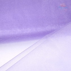 "Organza Fabric Light Purple 60"" Wide - 1 Meter"