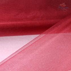 "Organza Fabric Maroon 60"" Wide - 1 Meter"