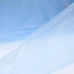 "Organza Fabric Sky Blue 60"" Wide - 1 Meter"