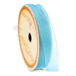 #24 Senorita Organza Ribbon - Baby Blue (9mm, 15mm, 24mm)
