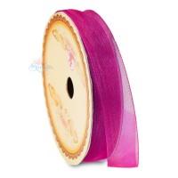 #17 Senorita Organza Ribbon - Crimson Pink (9mm, 15mm, 24mm)