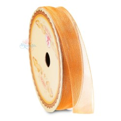 #6 Senorita Organza Ribbon - Light Orange (9mm, 15mm, 24mm)