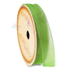 #237 Senorita Organza Ribbon - Olive Green (9mm, 15mm, 24mm)
