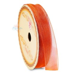 #016 Senorita Organza Ribbon - Orange (9mm, 15mm, 24mm)