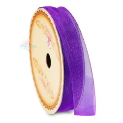 Senorita Organza Ribbon - Purple 014 (9mm, 15mm, 24mm)