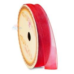 #28 Senorita Organza Ribbon - Red (9mm, 15mm, 24mm)