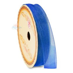 #25 Senorita Organza Ribbon - Royale Blue (9mm, 15mm, 24mm)