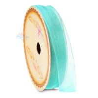 #548 Senorita Organza Ribbon - Turquoise (9mm, 15mm, 24mm)