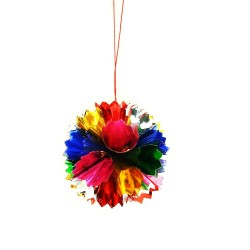 Shining Ball Hanging Decoration Small - 1 Pcs