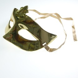 Luxury Party Mask Gold