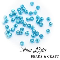 10mm Sun Light Pearl Bead Cloud Blue - #33