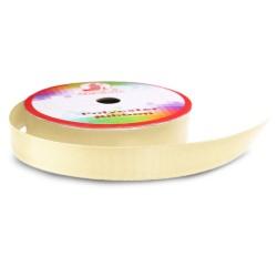 #003 Senorita Polyester Ribbon - Butter Milk (9mm, 15mm, 24mm, 38mm)