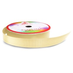 #004 Senorita Polyester Ribbon - Chamois (9mm, 15mm, 24mm, 38mm)