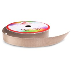 Senorita Polyester Ribbon - Tan #006  (9mm, 15mm, 24mm, 38mm)
