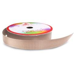 Senorita Polyester Ribbon - Tan #006  (9mm, 15mm, 24mm, 38mm)