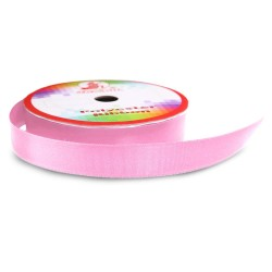 Senorita Polyester Ribbon - Geranium Pink #014 (9mm, 15mm, 24mm, 38mm)