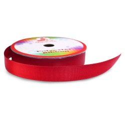 Senorita Polyester Ribbon - Red #025 (9mm, 15mm, 24mm, 38mm)