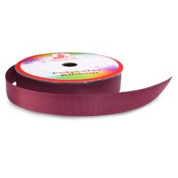 #028 Senorita Polyester Ribbon - Wine (9mm, 15mm, 24mm, 38mm)