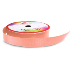 Senorita Polyester Ribbon - Peach (9mm, 15mm, 24mm, 38mm)