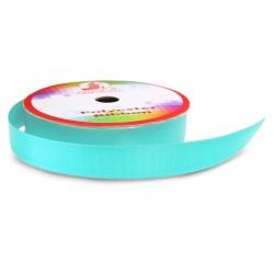 Senorita Polyester Ribbon - Aqua (9mm, 15mm, 24mm, 38mm)