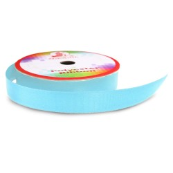 #045 Senorita Polyester Ribbon - Light Blue (9mm, 15mm, 24mm, 38mm)