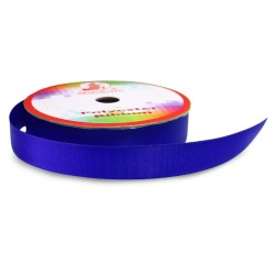 #050 Senorita Polyester Ribbon - Electric Blue (9mm, 15mm, 24mm, 38mm)