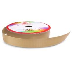 #062 Senorita Polyester Ribbon - Latte (9mm, 15mm, 24mm, 38mm)