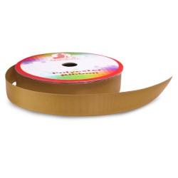 #063 Senorita Polyester Ribbon - Golden Brown (9mm, 15mm, 24mm, 38mm)