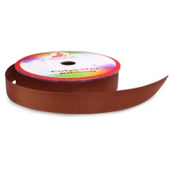 #065 Senorita Polyester Ribbon - Friar Brown (9mm, 15mm, 24mm, 38mm)