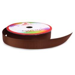 #068 Senorita Polyester Ribbon - Coffee (9mm, 15mm, 24mm, 38mm)