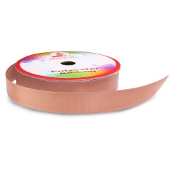 #072 Senorita Polyester Ribbon - Pecan Brown (9mm, 15mm, 24mm, 38mm)