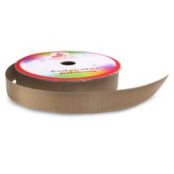 #075 Senorita Polyester Ribbon - Fossil (9mm, 15mm, 24mm, 38mm)