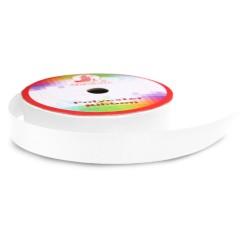 #WHT Senorita Polyester Ribbon - White (9mm, 15mm, 24mm, 38mm)
