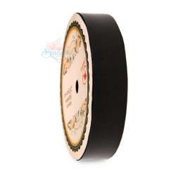 19MM Solid PP Fancy Ribbon Plain Black - 1 Roll